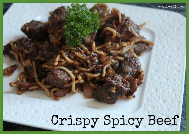 E-D Does It: Crispy Spicy Beef