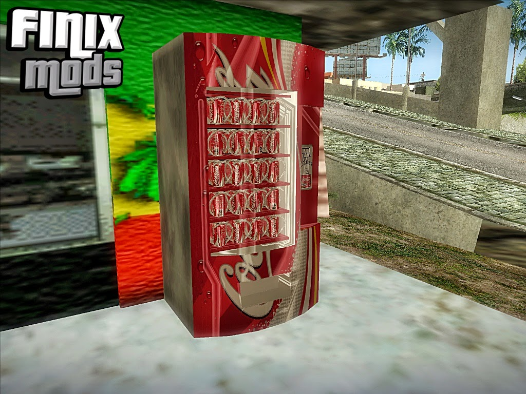 Nova Máquina De Coca-Cola Em HD