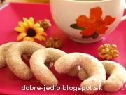 Orechovo-mandľové rožteky - recept