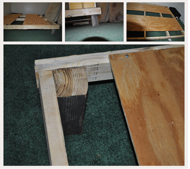 C mo hacer cama estructura tatami - Estructura cama ...