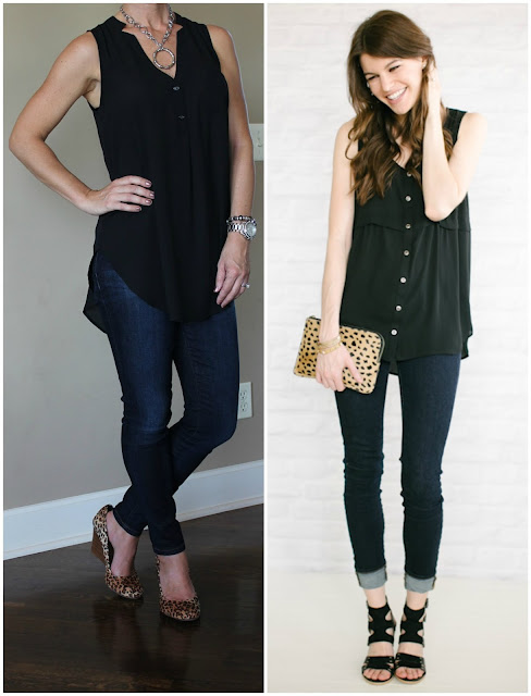 Outfit inspiration from Unfancy, casual look, date night outfit, look for less,