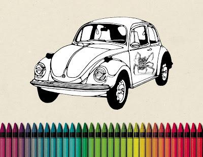 colores, coche