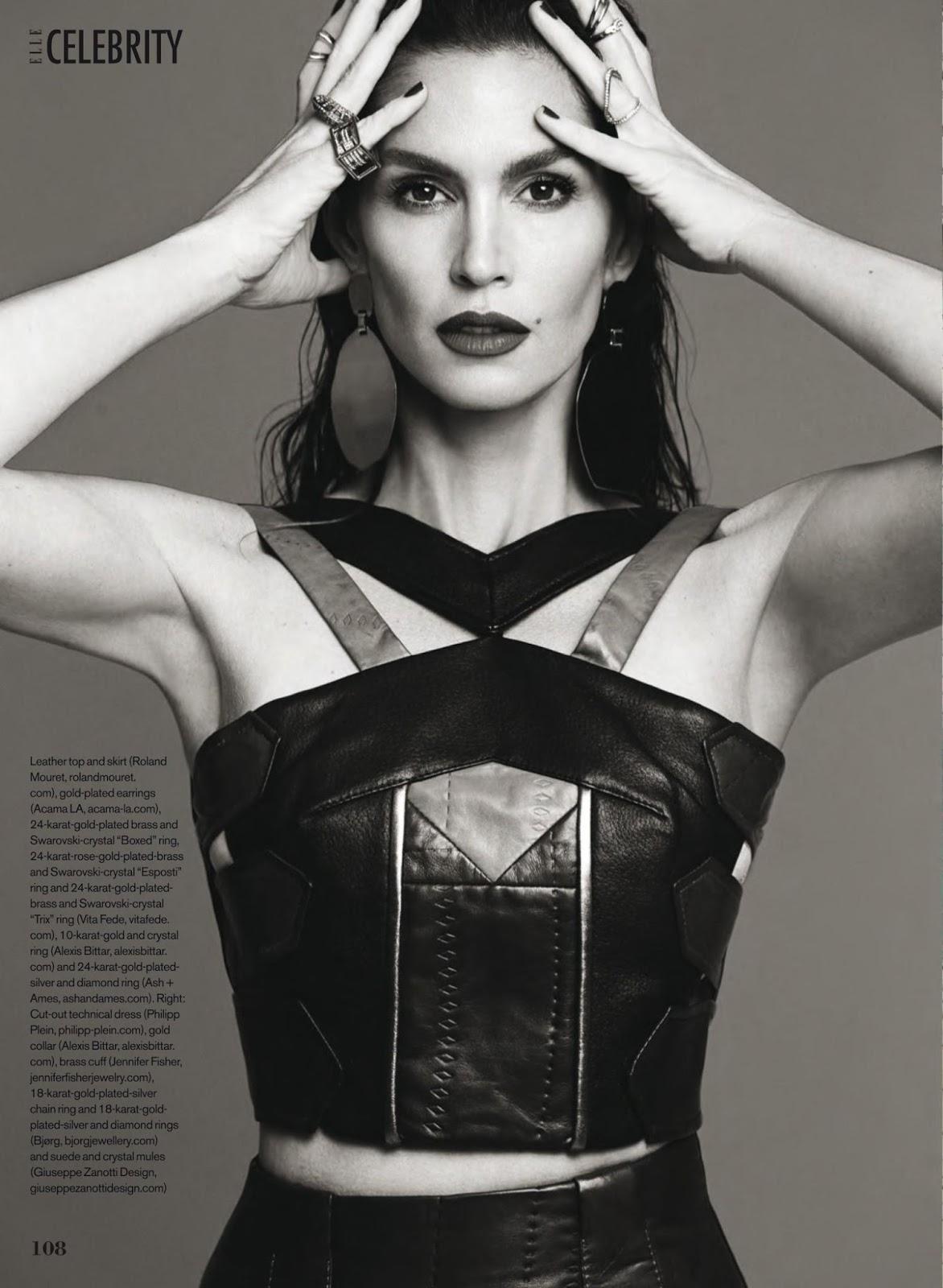 """Duchess Dior: """"Superwoman"""" Cindy Crawford for ELLE Canada ..."""