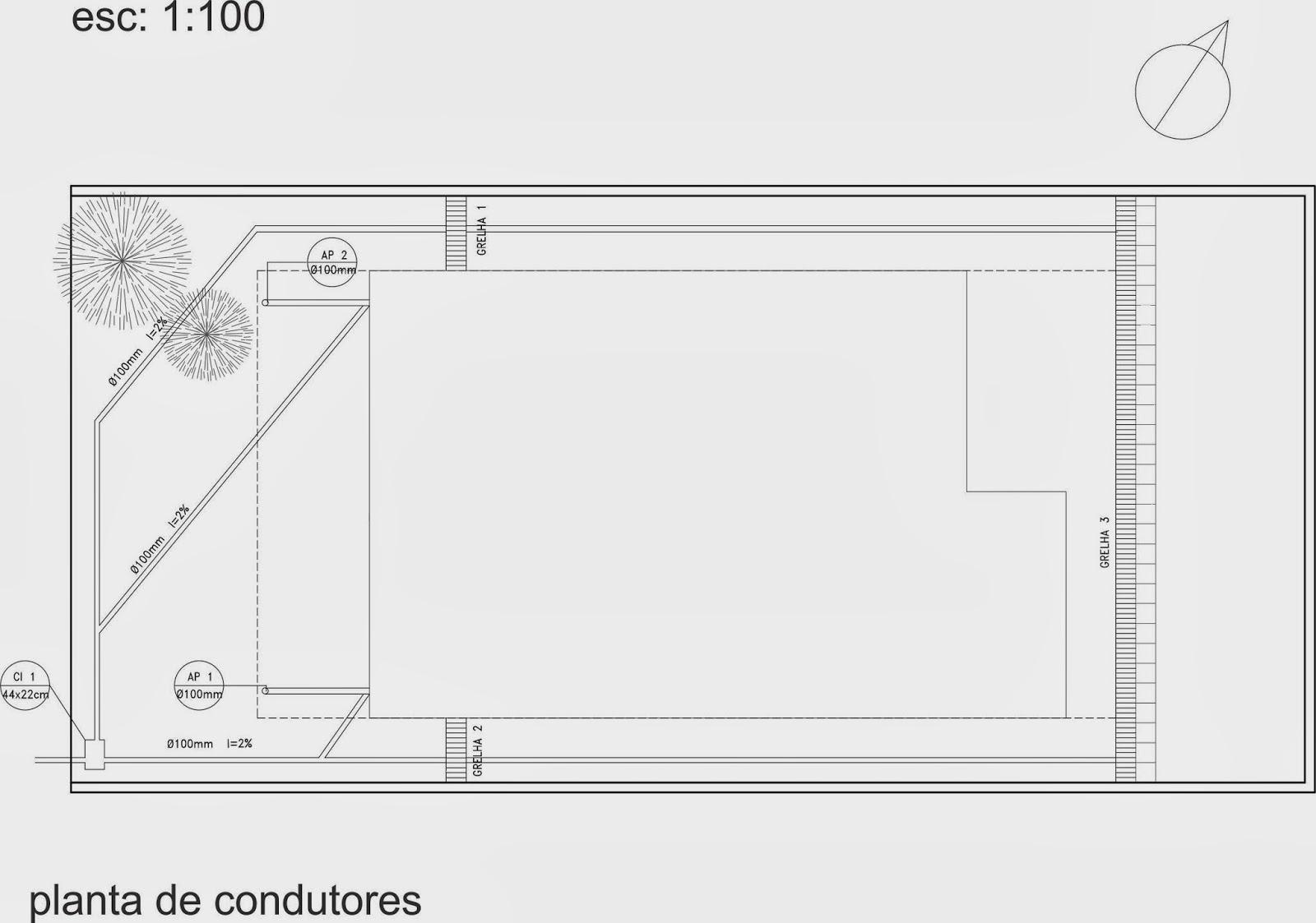 Pellegrino : Projeto de instalações hidráulicas para residência #494848 1600 1123