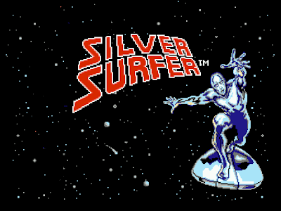 Top 5 Wimpiest NES Heroes: #5: Silver Surfer