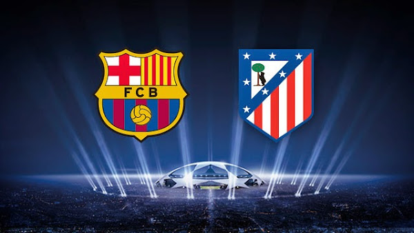 REPETICION FC BARCELONA VS ATLETICO MADRID, Goles, Resultados, Estadisticas, Online