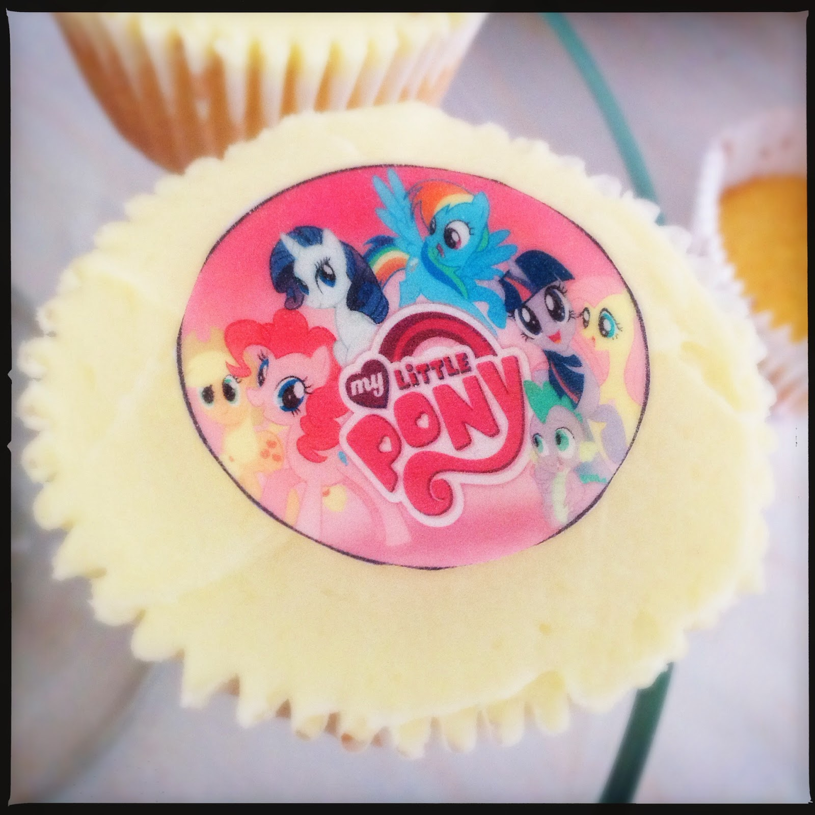 United Cakedom My Little Pony Birthday Cupcakes