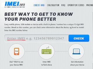 Come controllare Il Codice IMEI di un cellulare per sapere se è rubato , bloccato o in garanzia