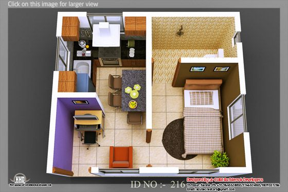 3d isometric view 03
