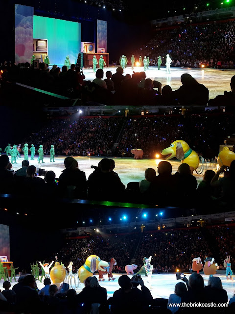 Disney On Ice At Manchester Toy Story cast on the ice