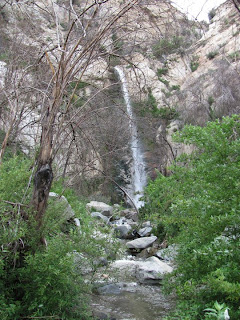 Big Tujunga Canyon Waterfalls