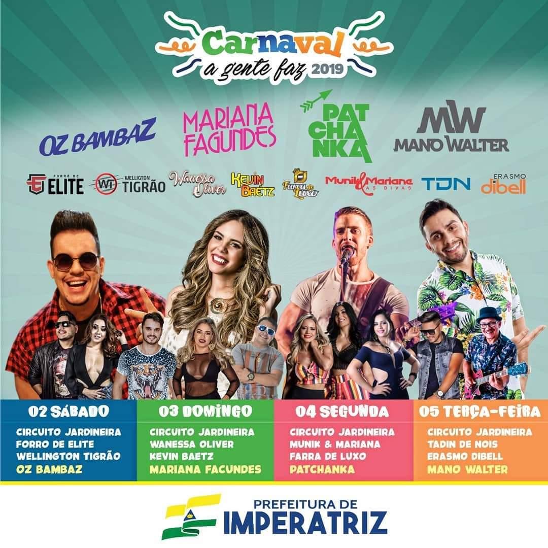 Carnaval Imperatriz 2019