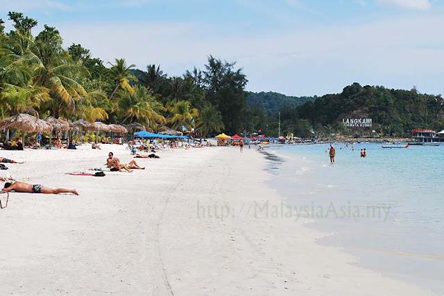 Pantai Cenang Beach Langkawi