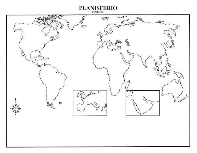 Mapa del continente americano con division política para imprimir ...