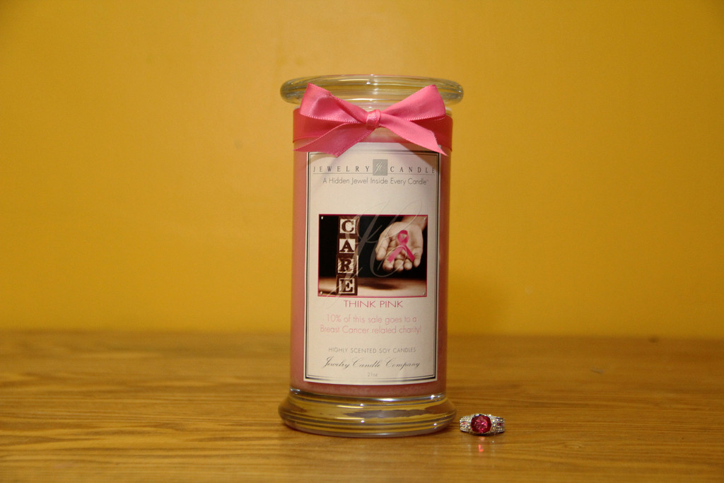 think pink jewelry candle giveaway swank savings
