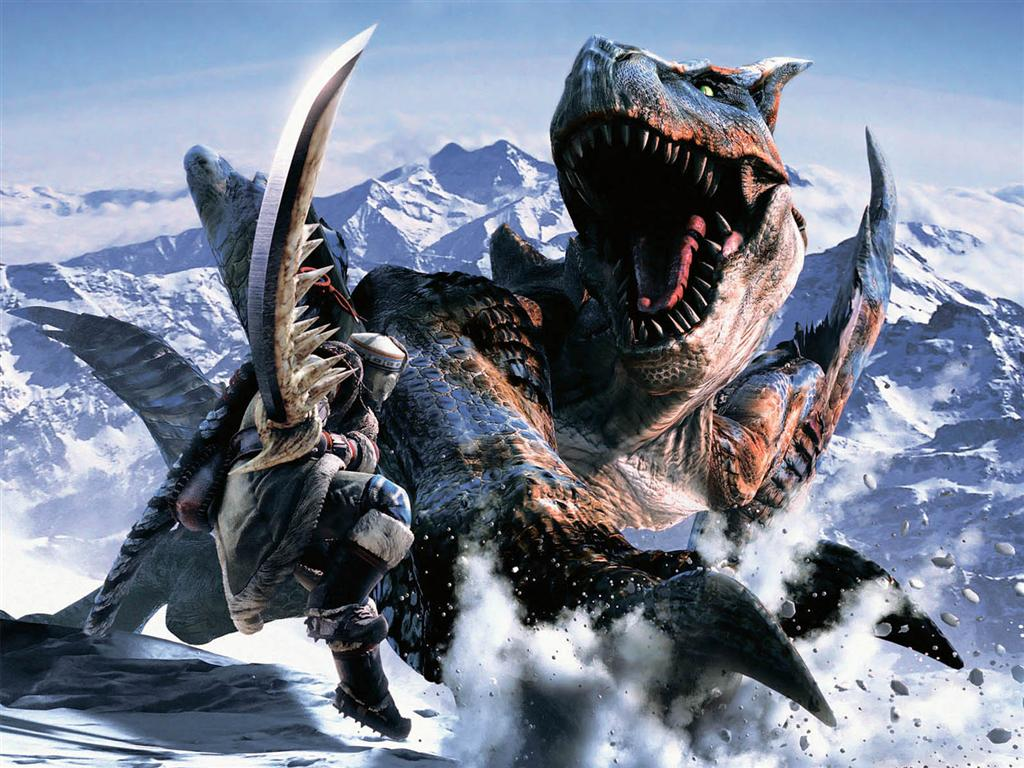 Monster Hunter HD & Widescreen Wallpaper 0.240722863459825