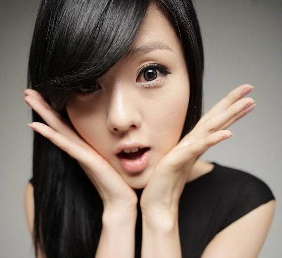 Cute Korean Long Hairstyles with Bangs