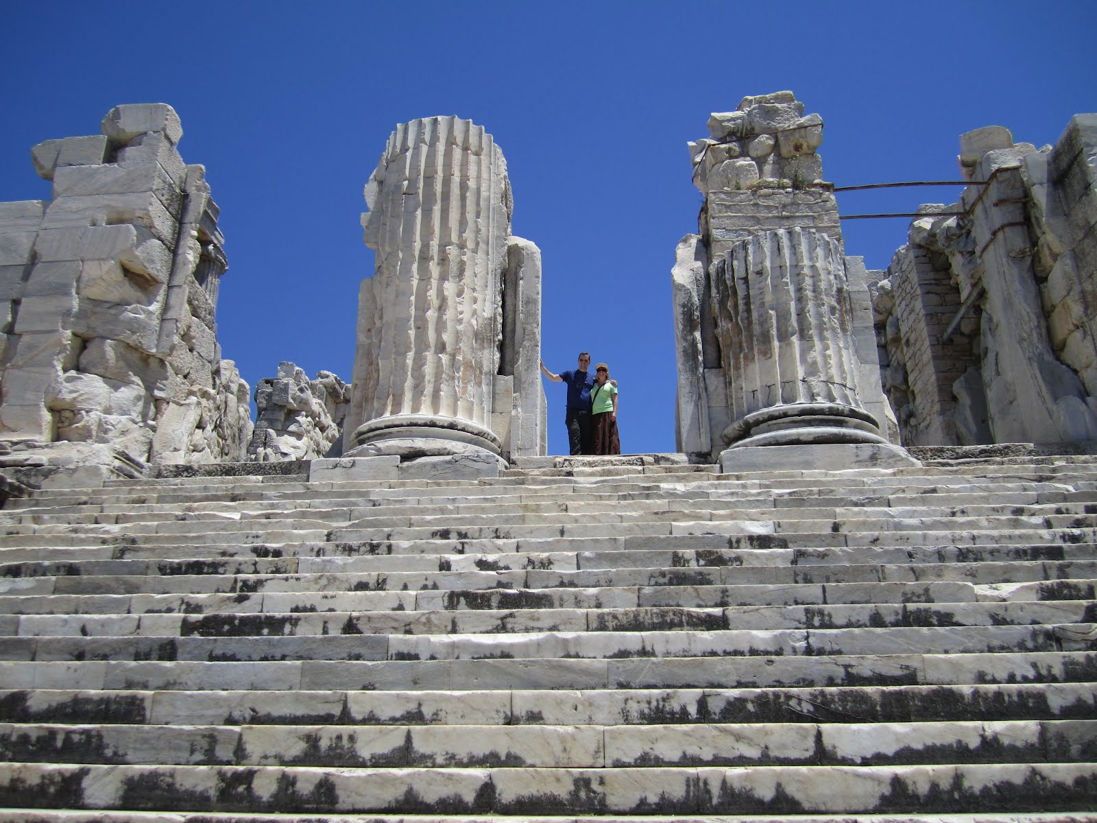 Travels...: Turkey Day 1 -- Didyma