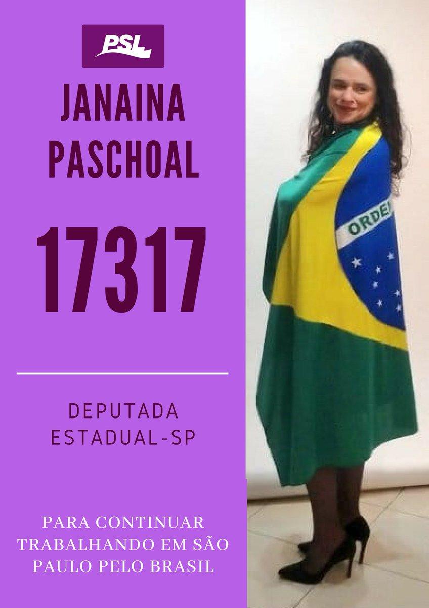 Dep. Estadual SP. - Janaina Paschoal