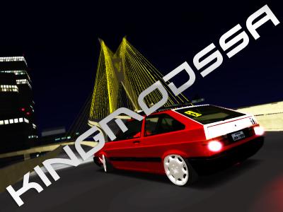 Volkswagen Gol GL 89 Edit - GTA SA