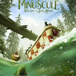 Poster Minuscule - La vallée des fourmis perdues 2013