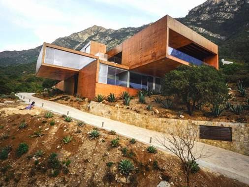 Tòa Narigua House tạiEl Jonuco, Mexico - Công ty kiến trúc P + O thiết kế (lọt danh sách công trình Nhà ở)