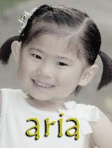 Aria, 4 years