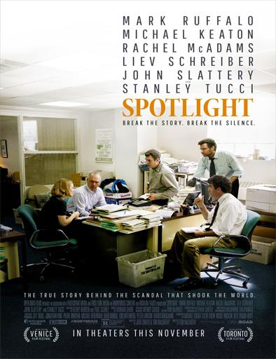 Ver En primera plana (Spotlight) (2015) Online