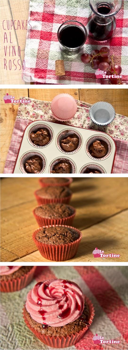 cupcakes al vino rosso: la mia ricetta per donnamoderna.com