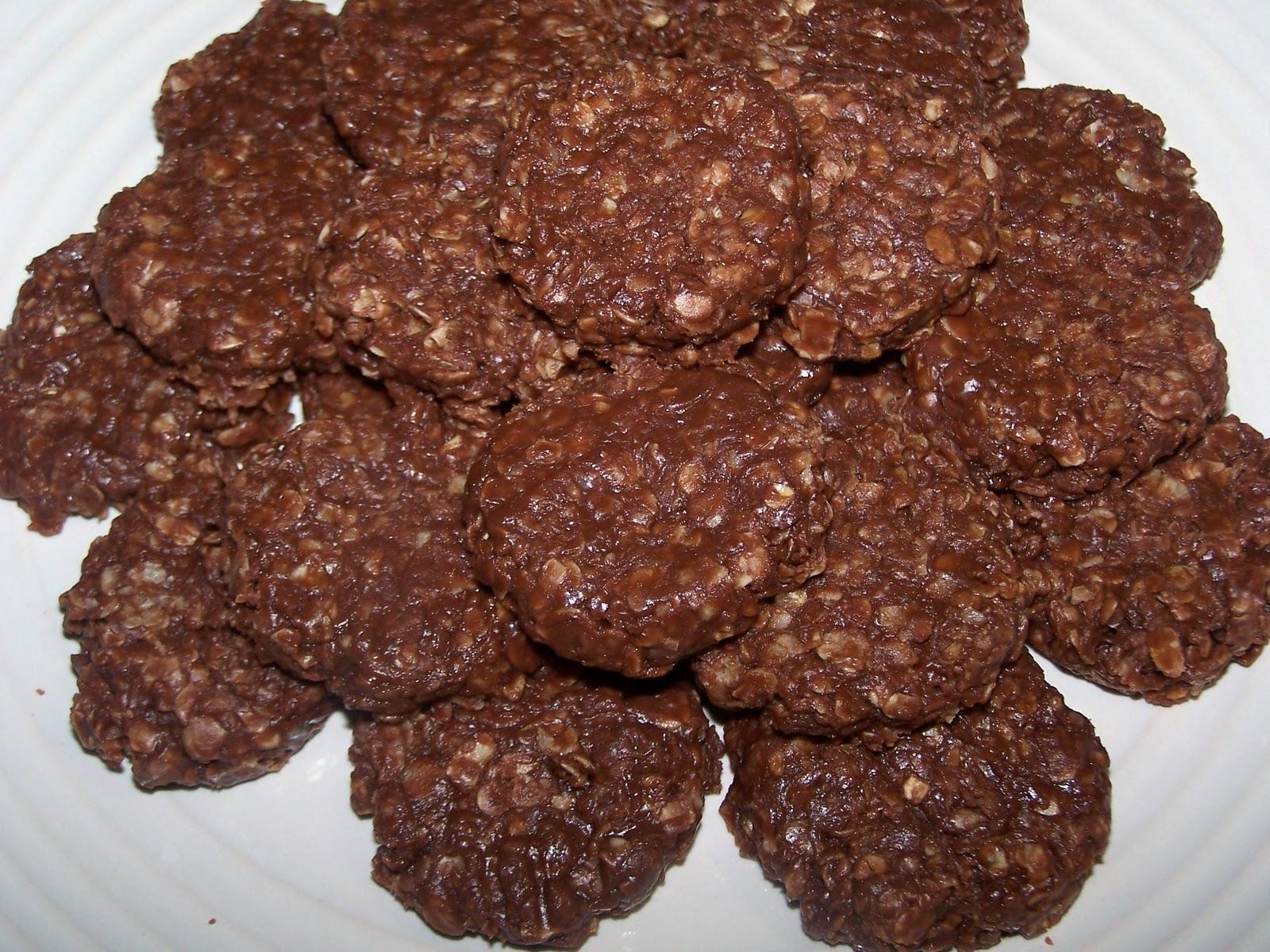 EZ Gluten Free: No Bake Nutella Oatmeal Cookies
