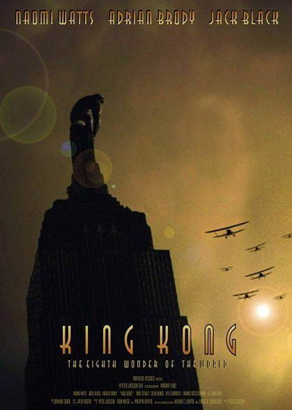 King Kong (2005) | Dow... Adrien Brody Movies Horror