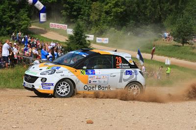 """""""Αποστολή: Υπεράσπιση Τίτλου"""" για την Opel Rallye Junior Team"""