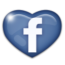 Facebook Herz Button