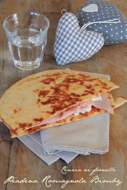 piadina romagnola ricetta bimby