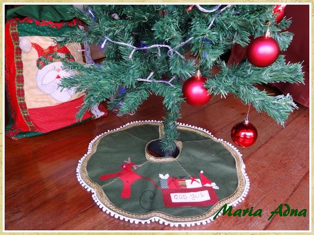 Patchwork e apliquê de natal, Decoração natalina, Decoração de natal, Maria Adna Ateliê,