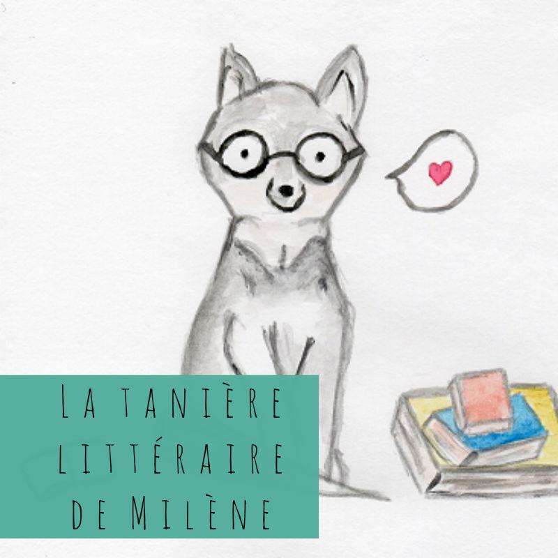 La tanière littéraire de Milène logo