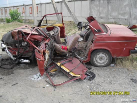 Авария произошла в туапсинском районе