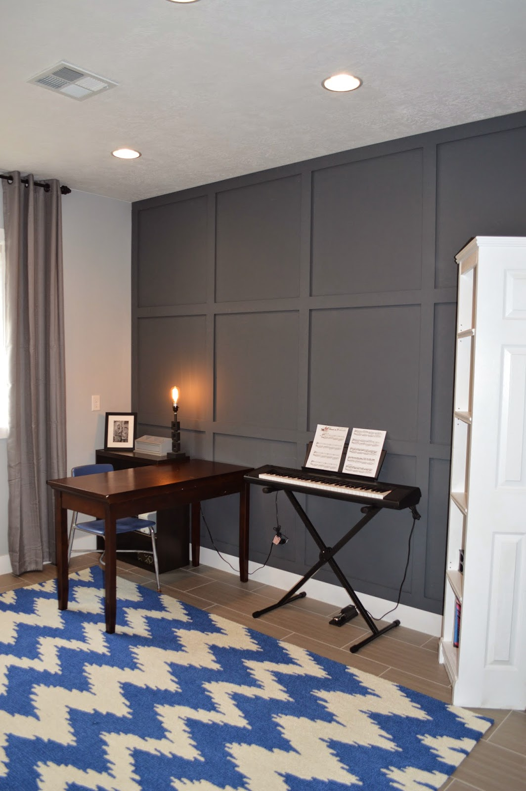 coffered wall how to. Black Bedroom Furniture Sets. Home Design Ideas