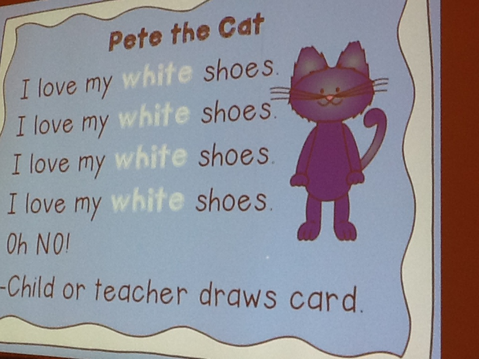 Pete the Cat White Shoes