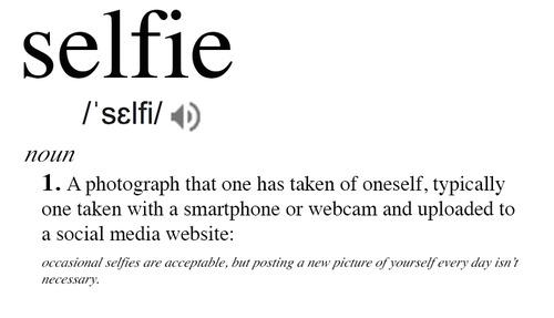 pengertian selfie menurut kamus bahasa
