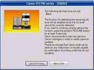 Trik Cara Mengatasi Cartridge Printer Canon yang Tidak Terdeteksi