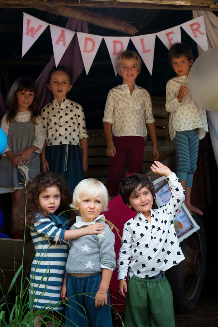 Waddler AW14/15 kids fashion collection