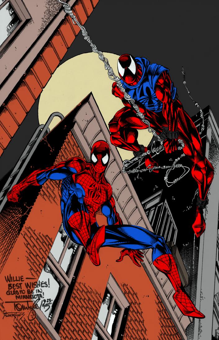 Scarlet Spiderman Ben ReillyScarlet Spider Vs Scarlet Spider