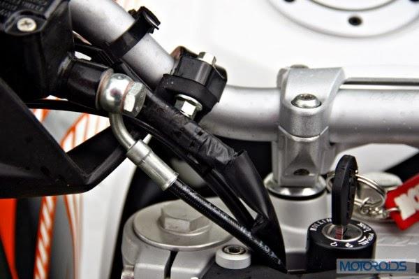 KTM 390 Duke India road test review 32
