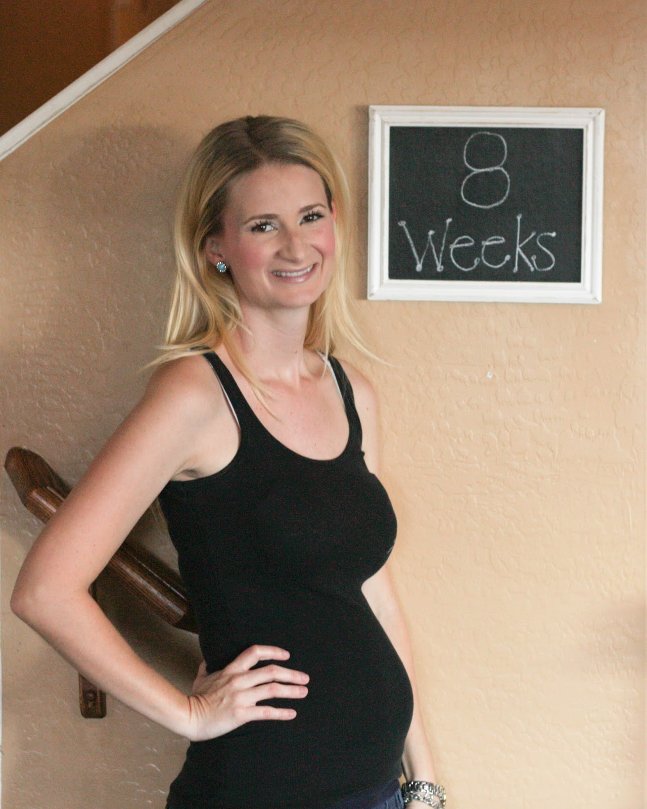 The Adventures of a Blondie Mommie: Pregnancy Bump Comparisons