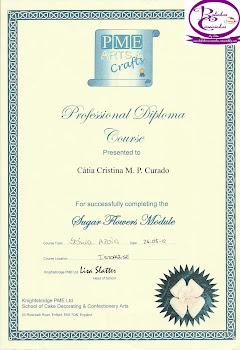Diploma Profissional PME Flores de Açúcar