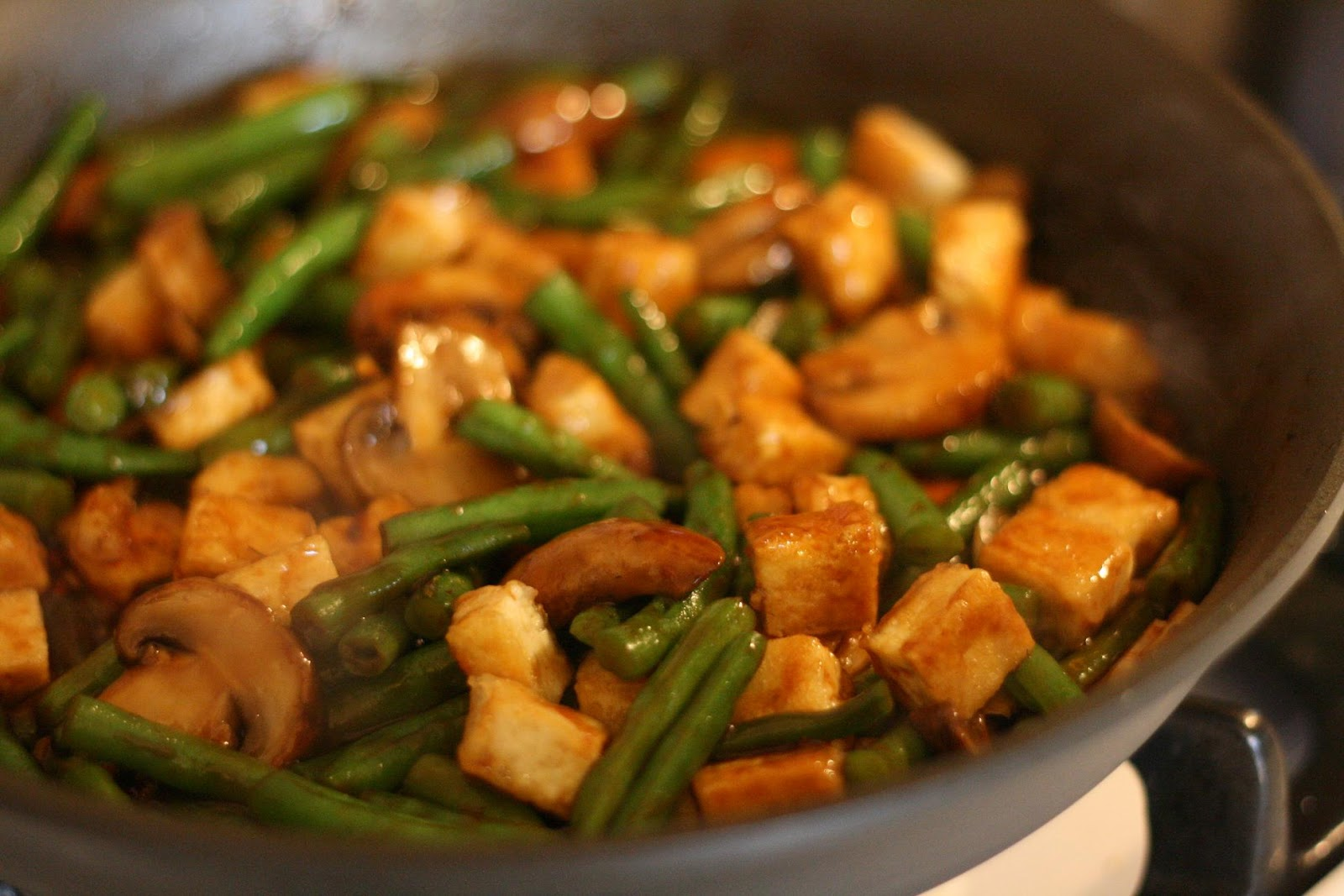 how to cook tofu with mushrooms