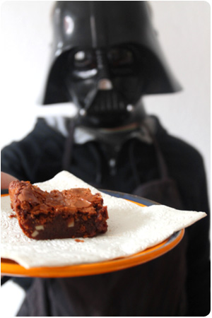 Darth Chocolate Brownies