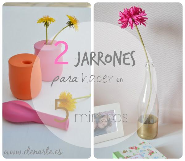 Pintar jarrones aprender manualidades es for Decoracion del hogar paso a paso