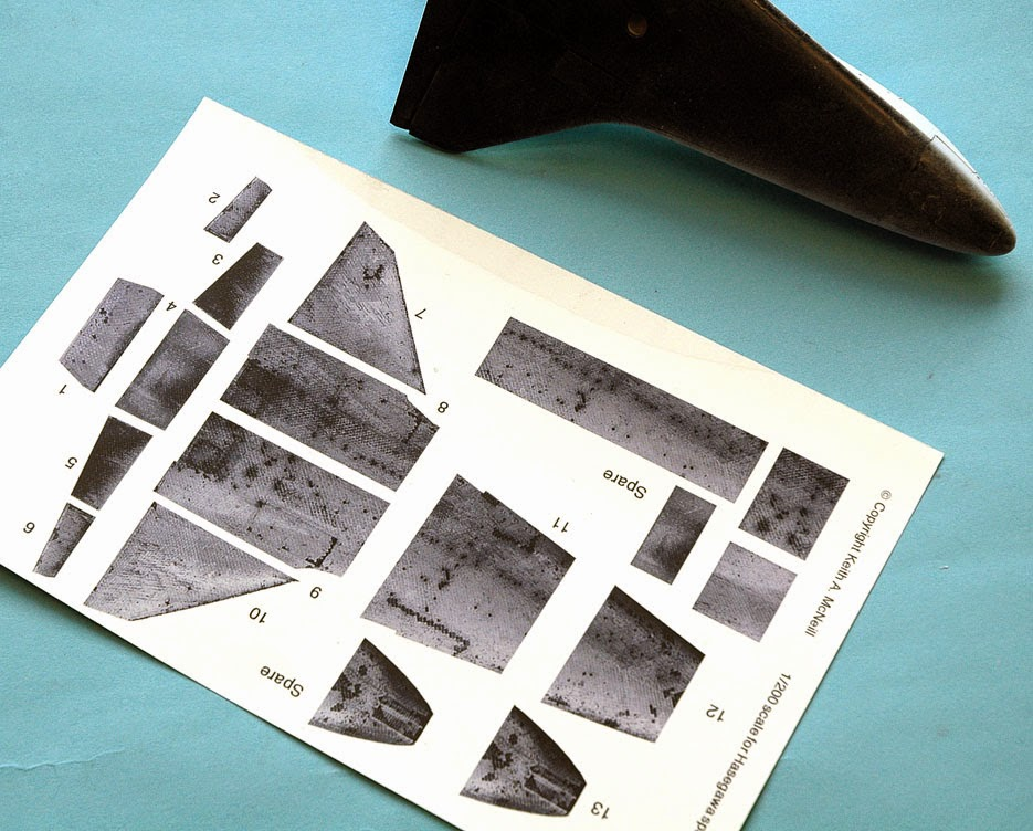 space shuttle tile decals - photo #7